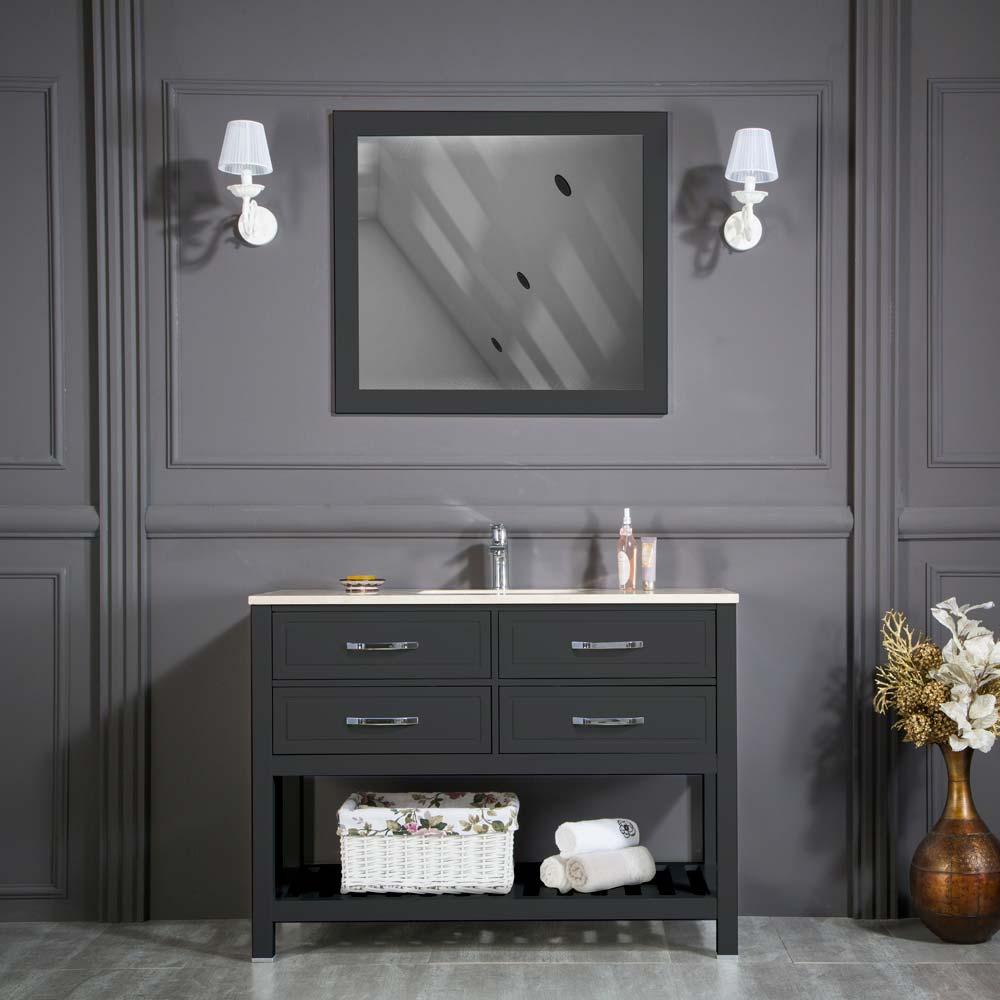 Fawio 42 Anthracite Bathroom Cabinet