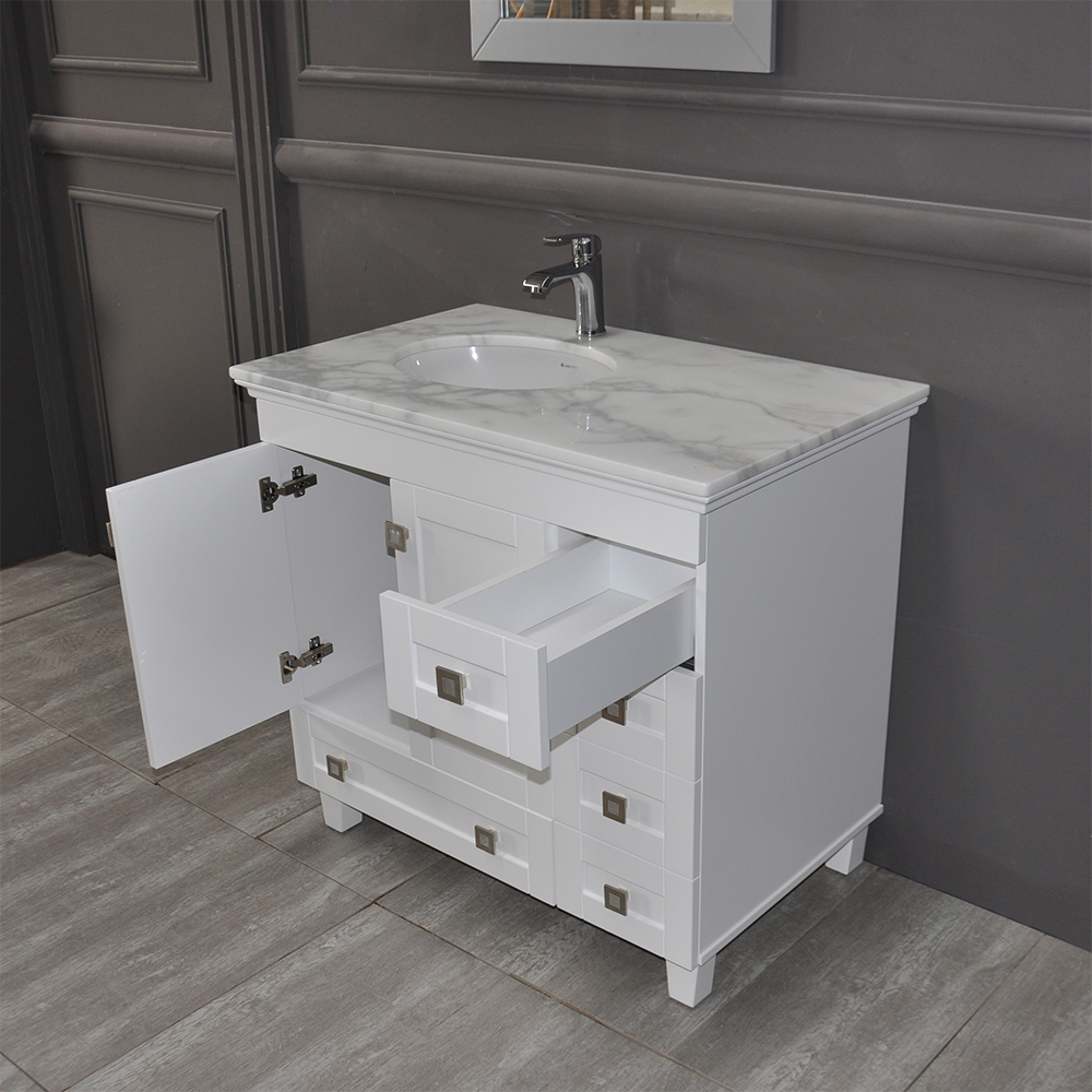 Otto Paloma 36 Inch White Bathroom
